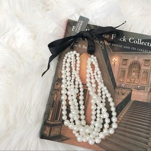 [Baublebar] Multi-strand Pearl Necklace